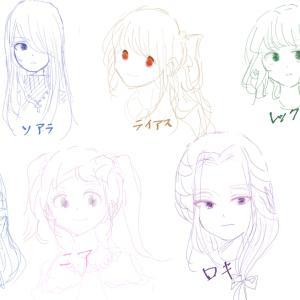 乙女ゲームのキャラクターを女体化してみた【乙女ゲームを作ろうの会】