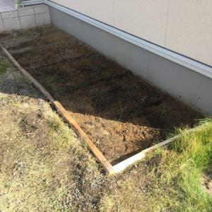 高麗芝をガッツリ剥がす!便利アイテムと力仕事!