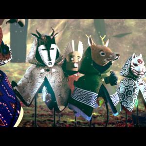 森の精霊たちが春を呼ぶために力を合わせるショートアニメ『Le souffle du monde』