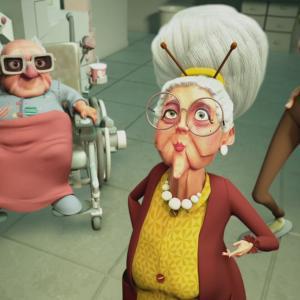 唯一の楽しみを奪われた老人たちのリモコン奪還作戦を描いたショートアニメ『Jamais Sans Mon Dentier』