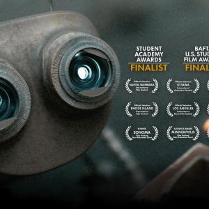 荒廃した惑星でふたりのロボットが協力して生き延びるショートアニメ『Wire Cutters』