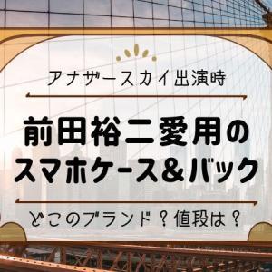 【アナザースカイ出演】前田裕二さんの愛用スマホ携帯ケース&クラッチバックはどこのブランド?