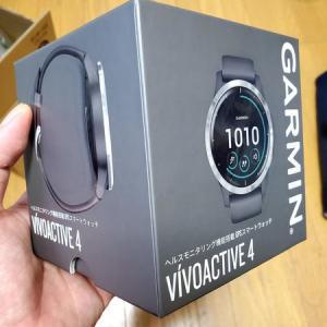 Garmin Vivo active 4購入