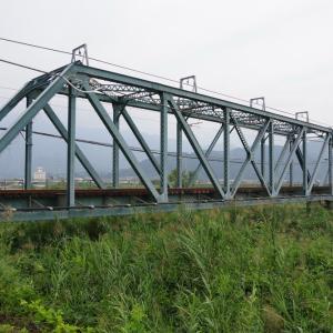 予讃線 名鉄道橋梁84選(104)加茂川橋梁