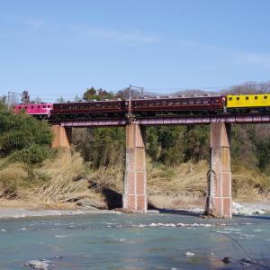 秩父鉄道 荒川橋梁EL REIWA2