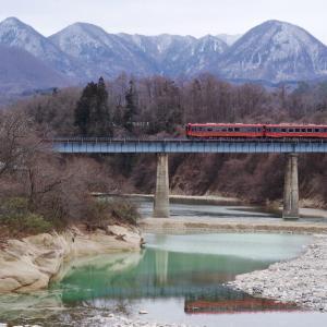 会津鉄道 第6大川橋梁