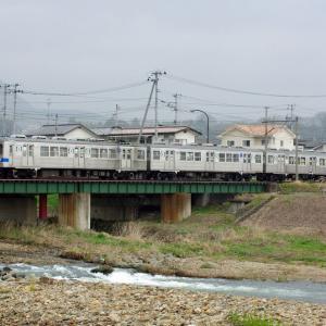 福島交通飯坂線 小川橋梁