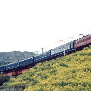 日豊線 なつかしの列車(197)八坂川橋梁の富士号