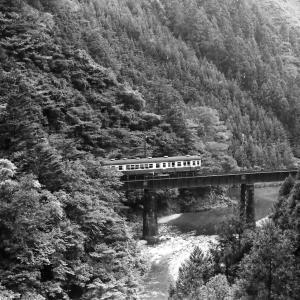 飯田線 なつかしの列車(198)クハユニ56