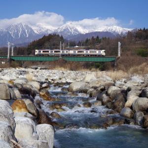 飯田線 与田切川橋梁(2)