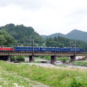 東武日光線 黒川橋梁のDE10