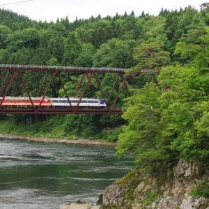 磐越西線 阿賀野川御前橋梁
