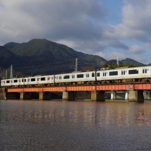 日豊本線 重富川橋梁の左岸