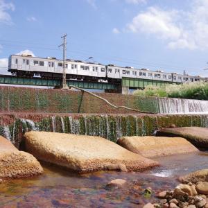 長野電鉄 松川橋梁
