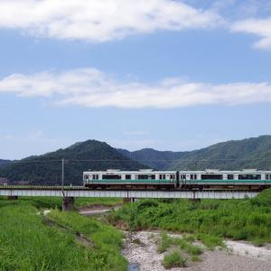 小浜線 松永川橋梁