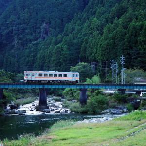名松線 八手俣川橋梁