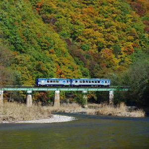 小海線 第3千曲川橋梁のHIGH RAIL1375