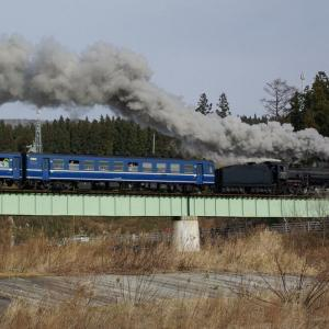 陸羽東線 なつかしの列車(224)江合川橋梁の門デフ