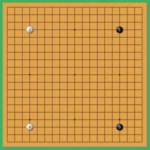 第67期囲碁王座戦1!
