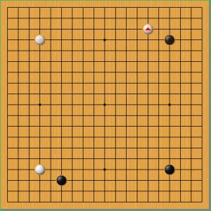第57期囲碁十段戦 1!