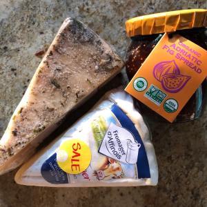 グッジョブ 夫がが買ってきたラベンダー入りチーズ