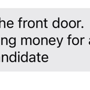 義母がドアを開けるなと通報したもの