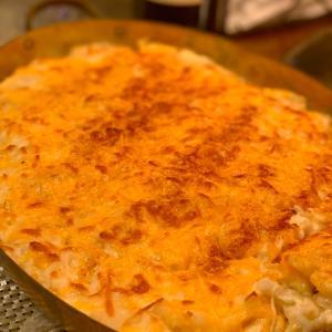手作りベイクドマカロニチーズ