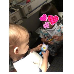 1歳4ヶ月の男児を連れて、13時間のフライトへ