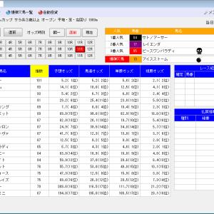 競馬ソフトにお任せ・6/14(日)の競馬計画