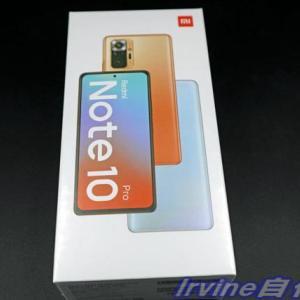 投稿のおしらせ シャオミ Redmi Note 10 Proの購入レビュー(1) 外観と付属品