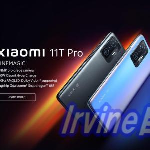 投稿のお知らせ シャオミから新端末Xiaomi 11T/Proが発表 発売日は未定
