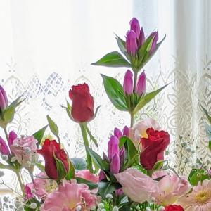 結婚記念日のお花
