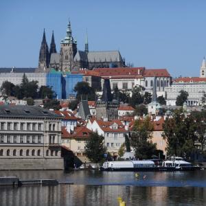 プラハ城での演奏会