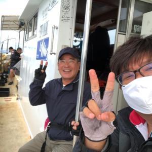 西風強風でタコ釣りin盛和丸 2020.7.15