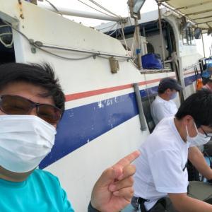 福ちゃんとヤザワ渡船(乗合)でアジ釣りに行ってきた!