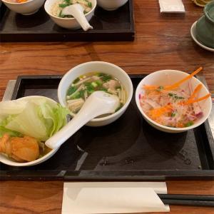 本日のランチ〜タイ料理を食す〜今日のわんこ☆