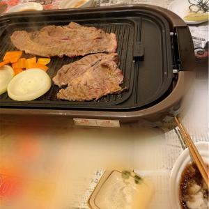 おうち焼肉〜今日のおうちごはん〜今日のわんこ〜