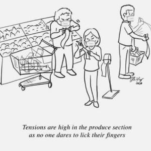 スーパーの青果コーナーが怖い…