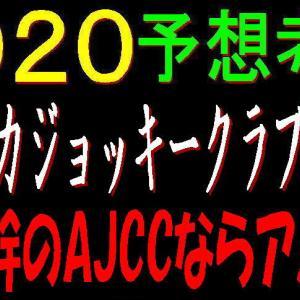 アメリカジョッキークラブカップ2020競馬予想 非今回のAJCCならアノ馬!?