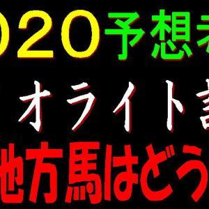 ダイオライト記念2020予想(船橋競馬) アノ地方馬はどうだ!?