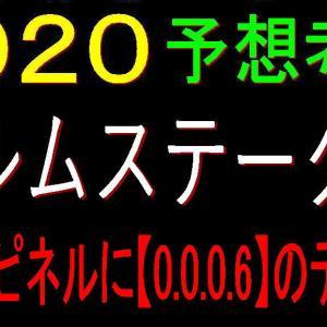 エルムステークス2020消去法データ(過去10年)|エアスピネルに【0.0.0.6】のデータ!?