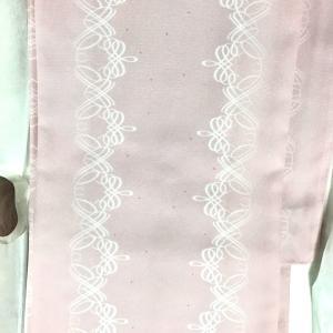 56歳にして、またもピンクの着物を仕立てました♪
