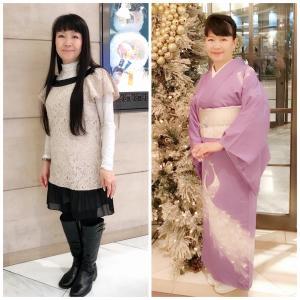 ビフォー洋服アフター着物 洋服姿と着物姿のギャップが大きいほど変身度合いが高いんです♪