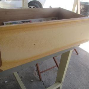 DIY 収納タンス塗装