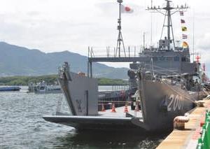 海上自衛隊(JMSDF)輸送艇1号_2018年7月若松みなと祭り