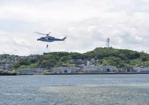 2018年7月_若松みなと祭り 官民合同の救助訓練