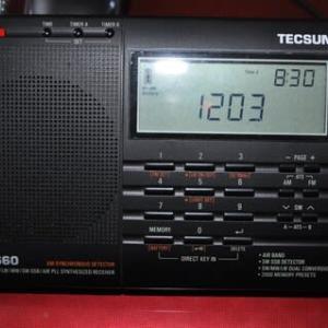 中華ラジオ 「TECSUN_PL-660」フリーズ後、メモリが吹っ飛んだ。