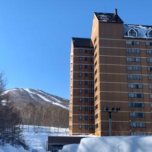 【旅ブログ】強風再び!やむなく近隣のスキー場へ移動【DAY4】
