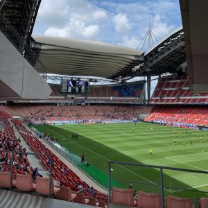 U-24日本代表の試合を見に豊田まで行ってきましたよ