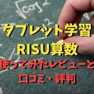 【ブログ特典あり!】小学生のタブレット学習RISU算数で子供を絶対算数嫌いにしない【動画あり】